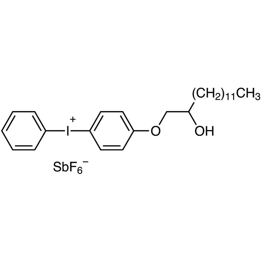 [4-[(2-Hydroxytetradecyl)oxy]phenyl]phenyliodonium Hexafluoroantimonate