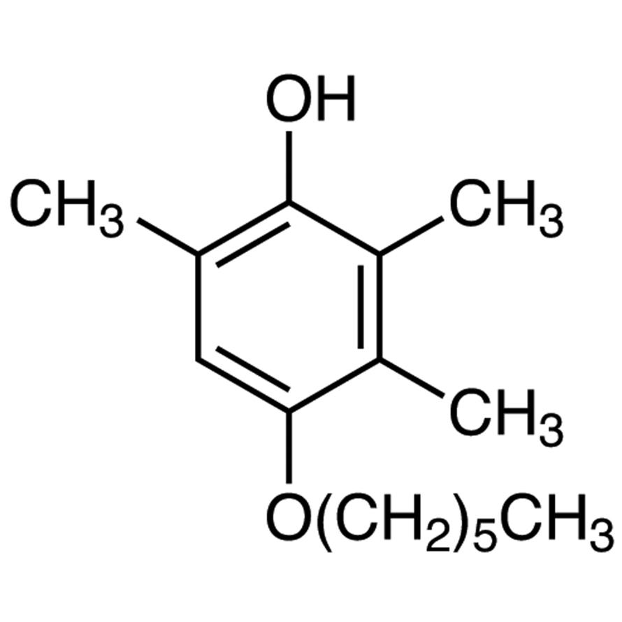 4-(Hexyloxy)-2,3,6-trimethylphenol
