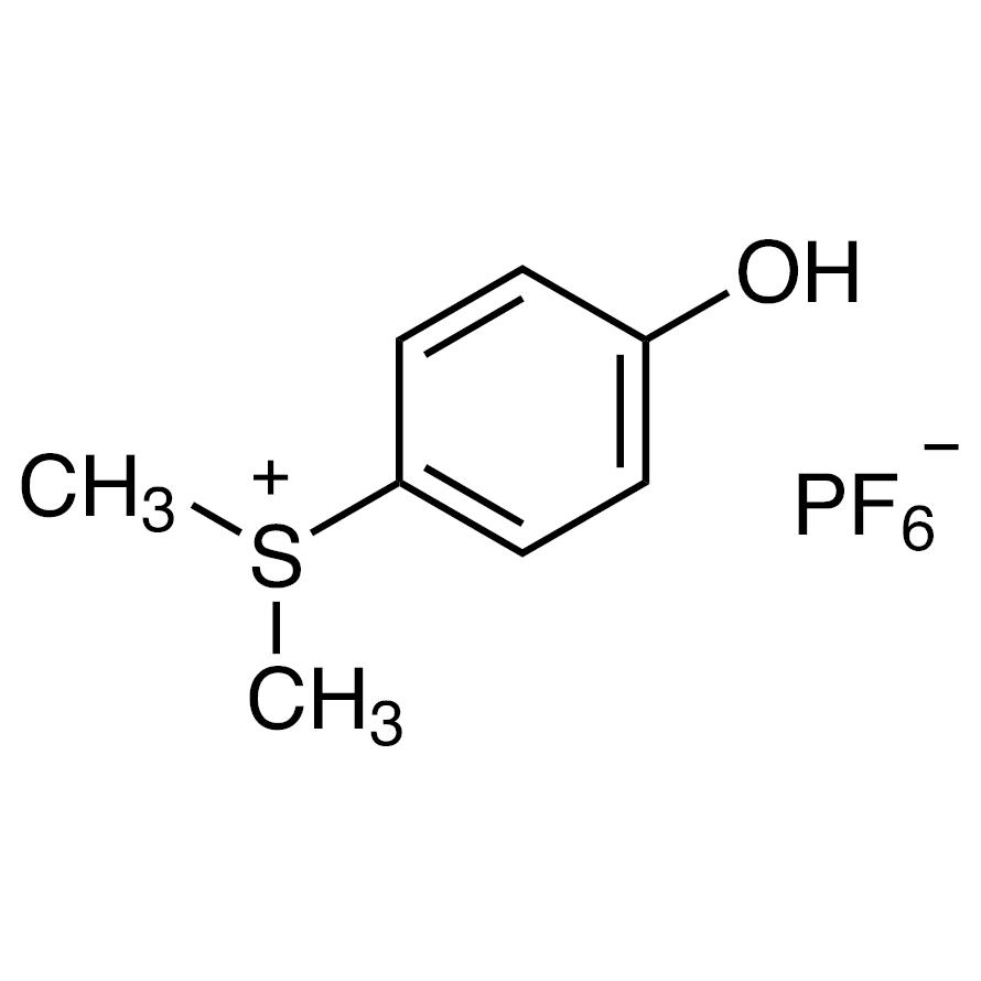 (4-Hydroxyphenyl)dimethylsulfonium Hexafluorophosphate