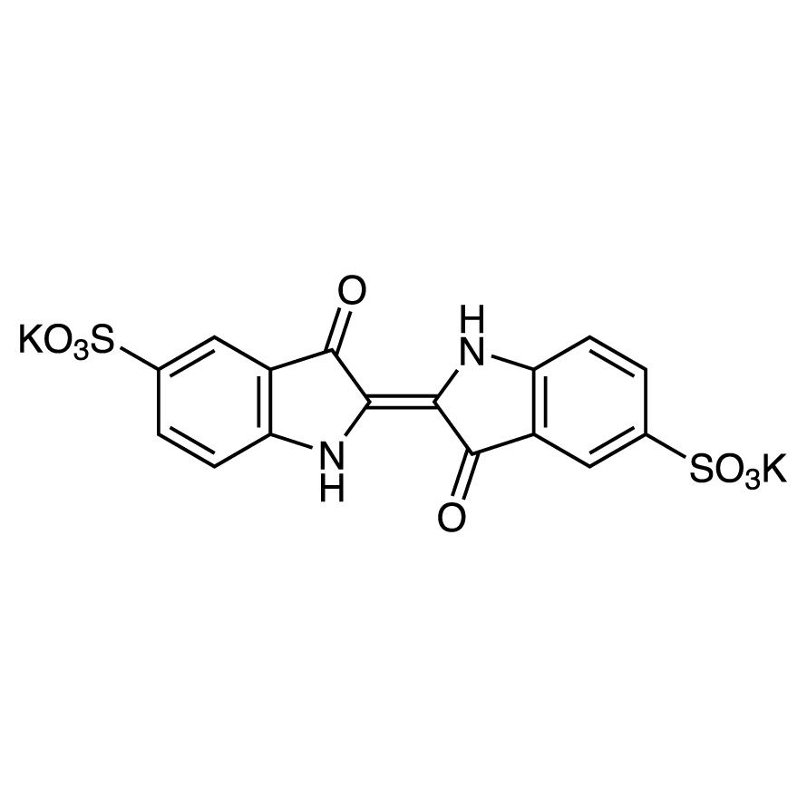 Indigodisulfonic Acid Dipotassium Salt