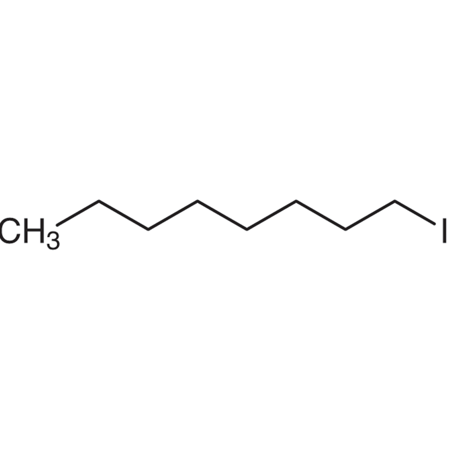 1-Iodooctane (stabilized with Copper chip)