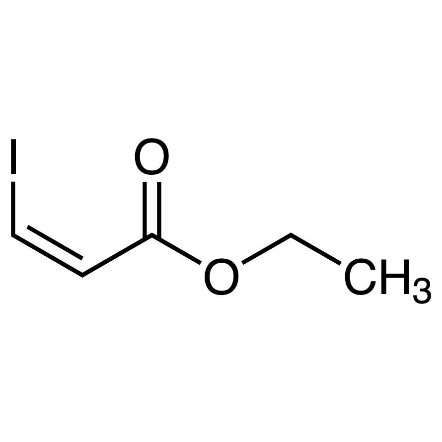 Ethyl cis-3-Iodoacrylate (stabilized with Copper chip)