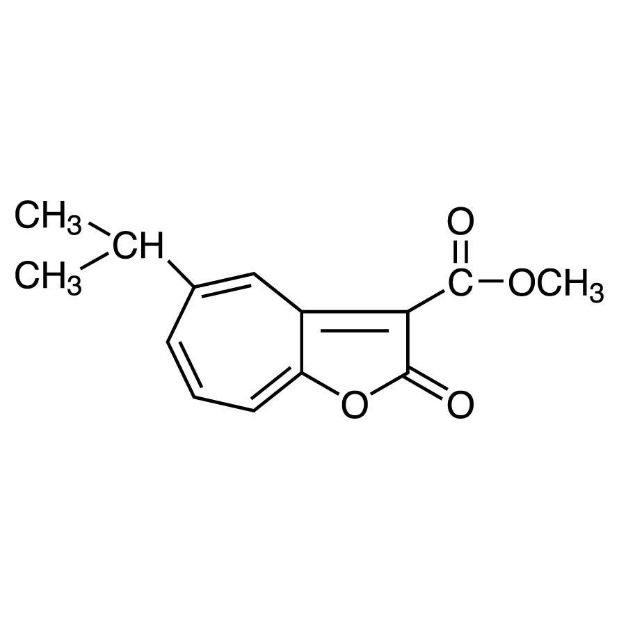 5-Isopropyl-3-(methoxycarbonyl)-2H-cyclohepta[b]furan-2-one