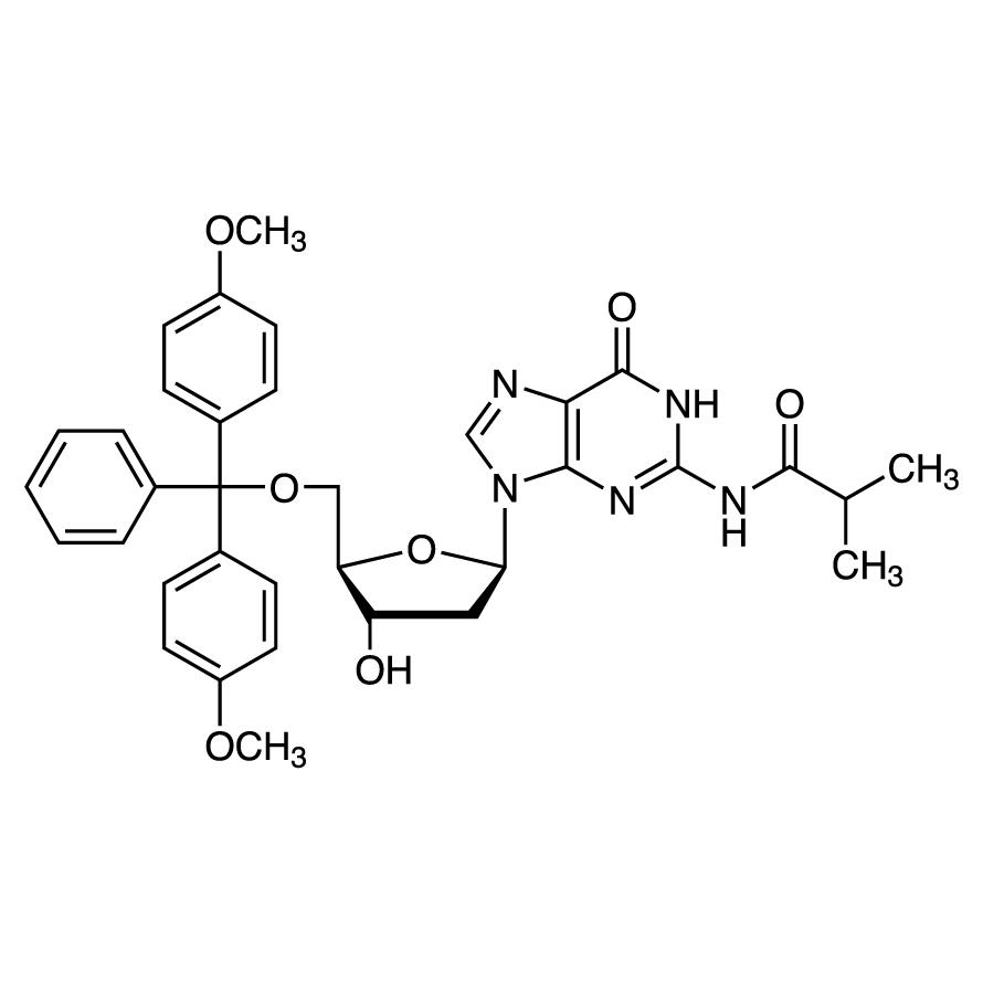 N2-Isobutyryl-5'-O-(4,4'-dimethoxytrityl)-2'-deoxyguanosine