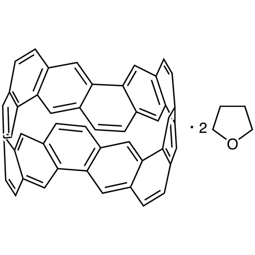 (6,6)Carbon Nanobelt Bis(tetrahydrofuran) Adduct