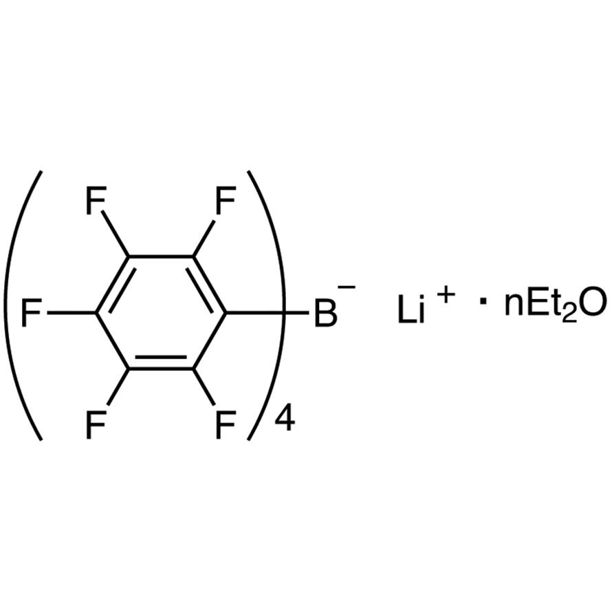 Lithium Tetrakis(pentafluorophenyl)borate - Ethyl Ether Complex
