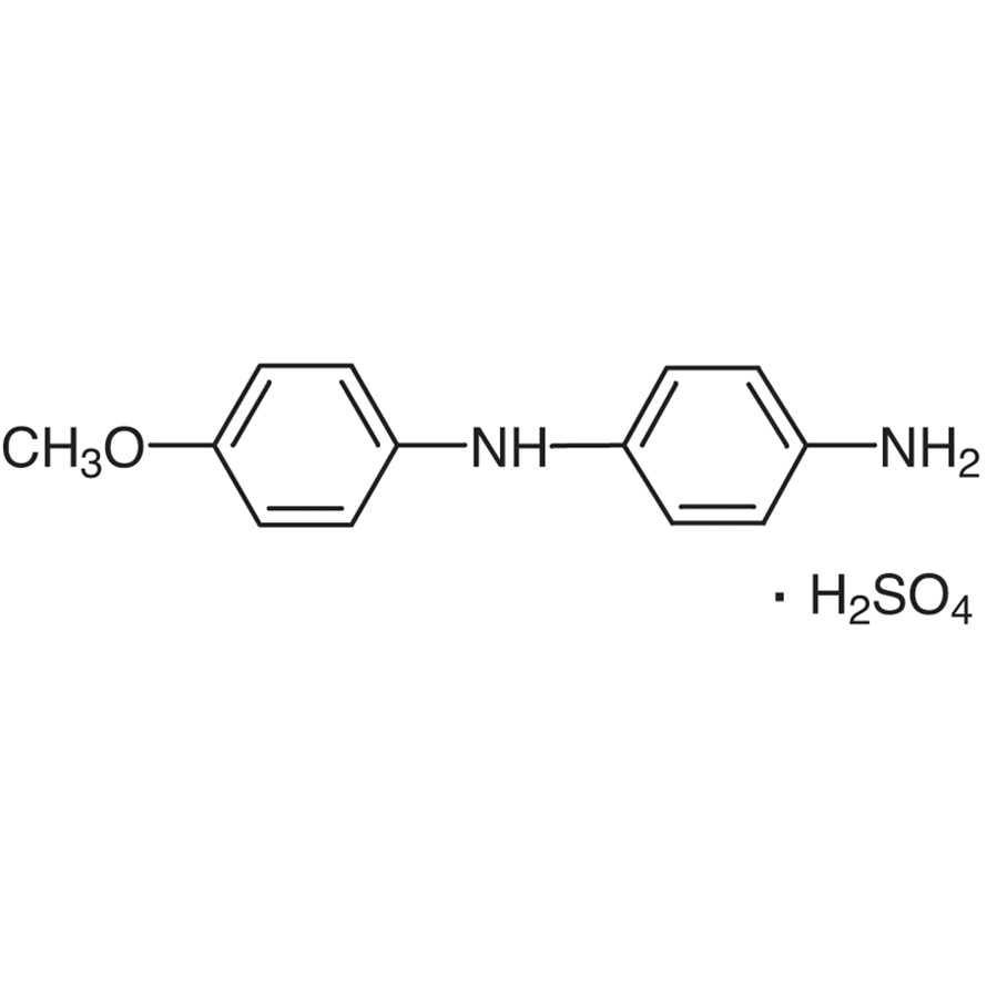 Variamine Blue B Sulfate (=4-Amino-4'-methoxydiphenylamine Sulfate) [for Iron-Titration]