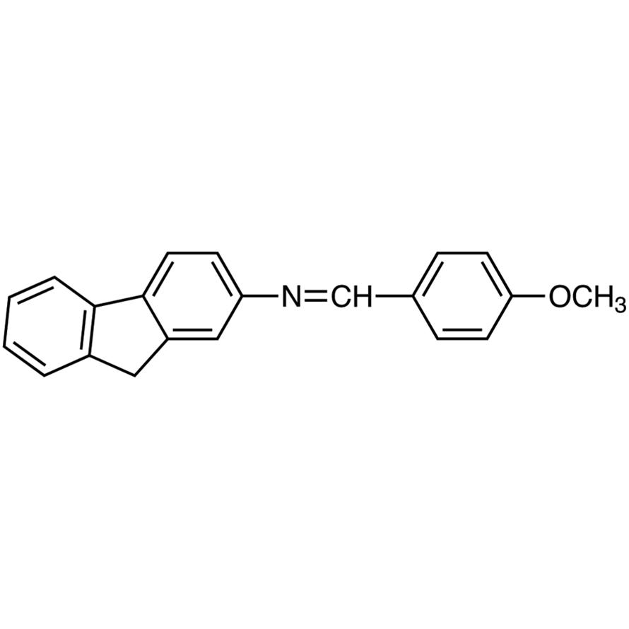 2-[(4-Methoxybenzylidene)amino]fluorene
