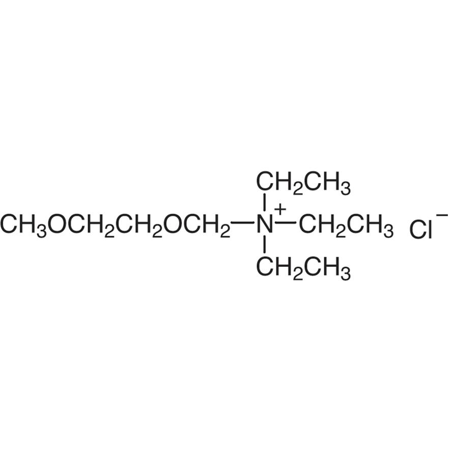 (2-Methoxyethoxymethyl)triethylammonium Chloride
