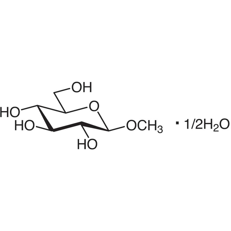 Methyl -D-Glucopyranoside Hemihydrate