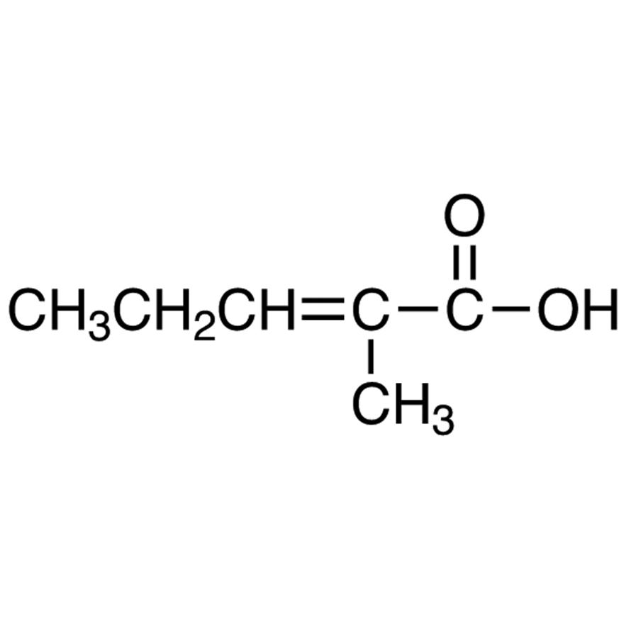 2-Methyl-2-pentenoic Acid