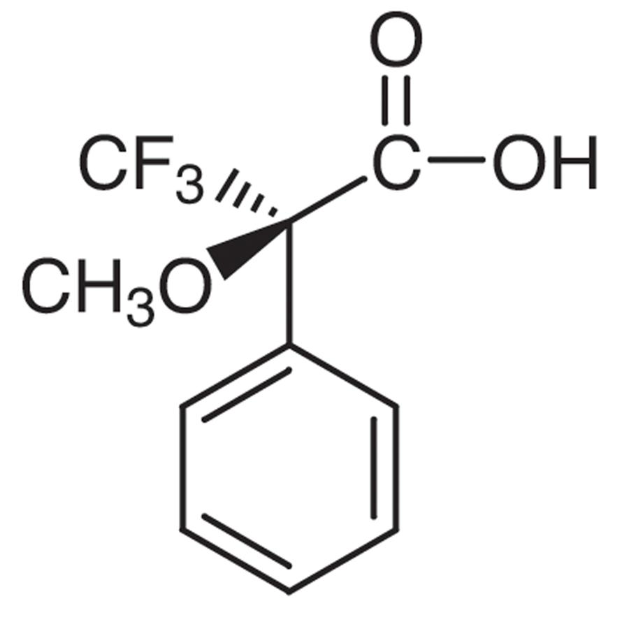 (R)-(+)--Methoxy--(trifluoromethyl)phenylacetic Acid [Optical Resolving]