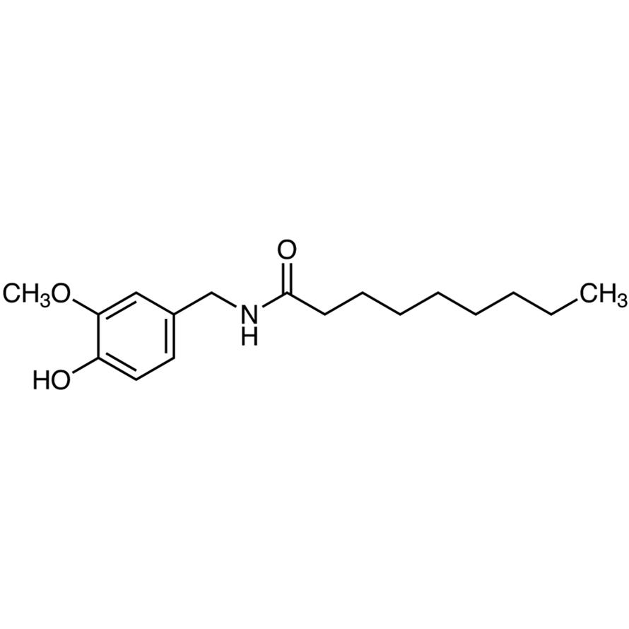 N-Vanillylnonanamide [=Capsaicin (Synthetic)]