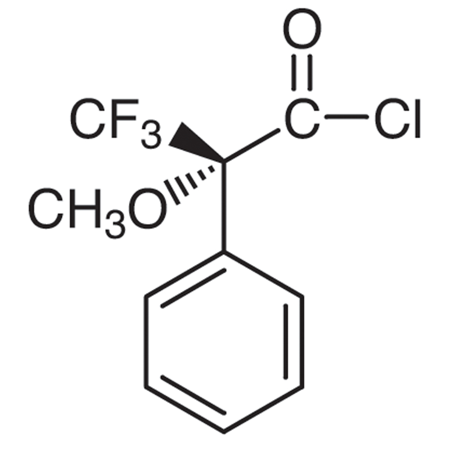 (R)-(-)--Methoxy--(trifluoromethyl)phenylacetyl Chloride [for Determination of the optical purity of Alcohols and Amines]