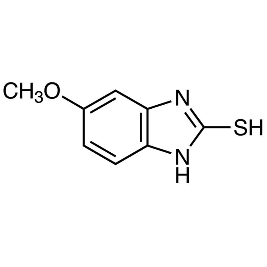 2-Mercapto-5-methoxybenzimidazole