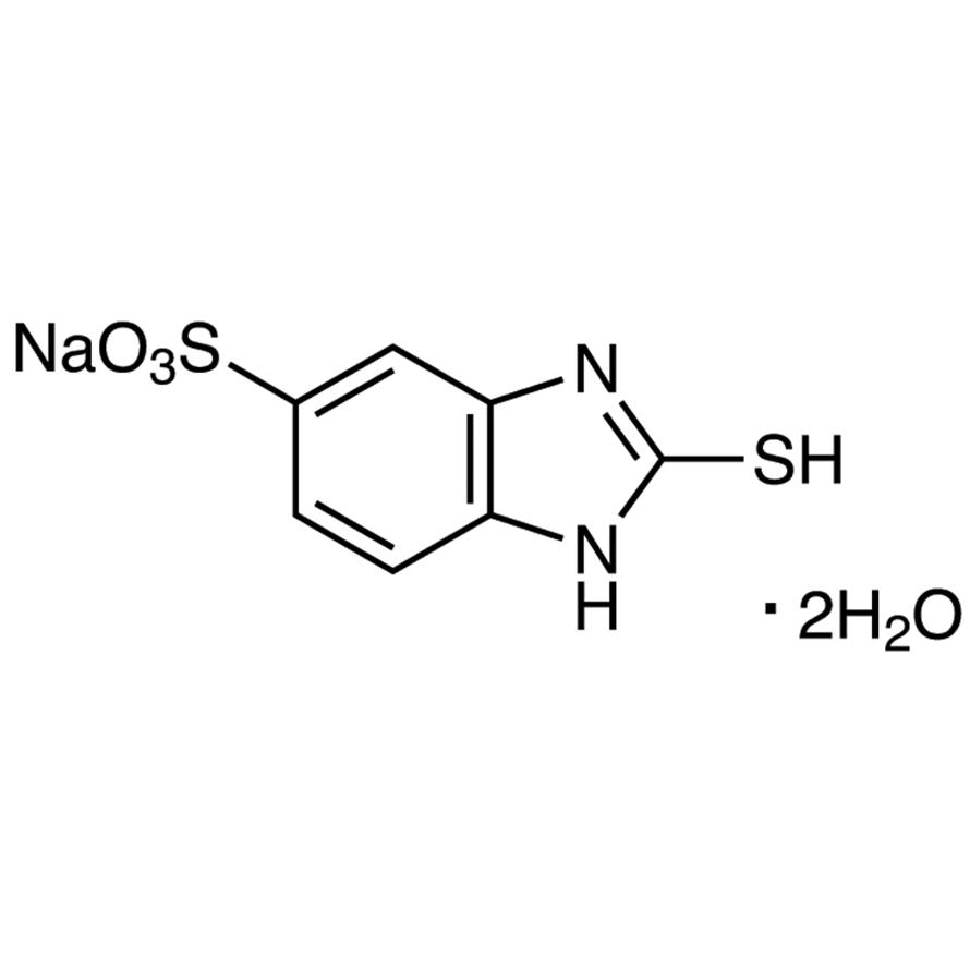 Sodium 2-Mercapto-5-benzimidazolesulfonate Dihydrate