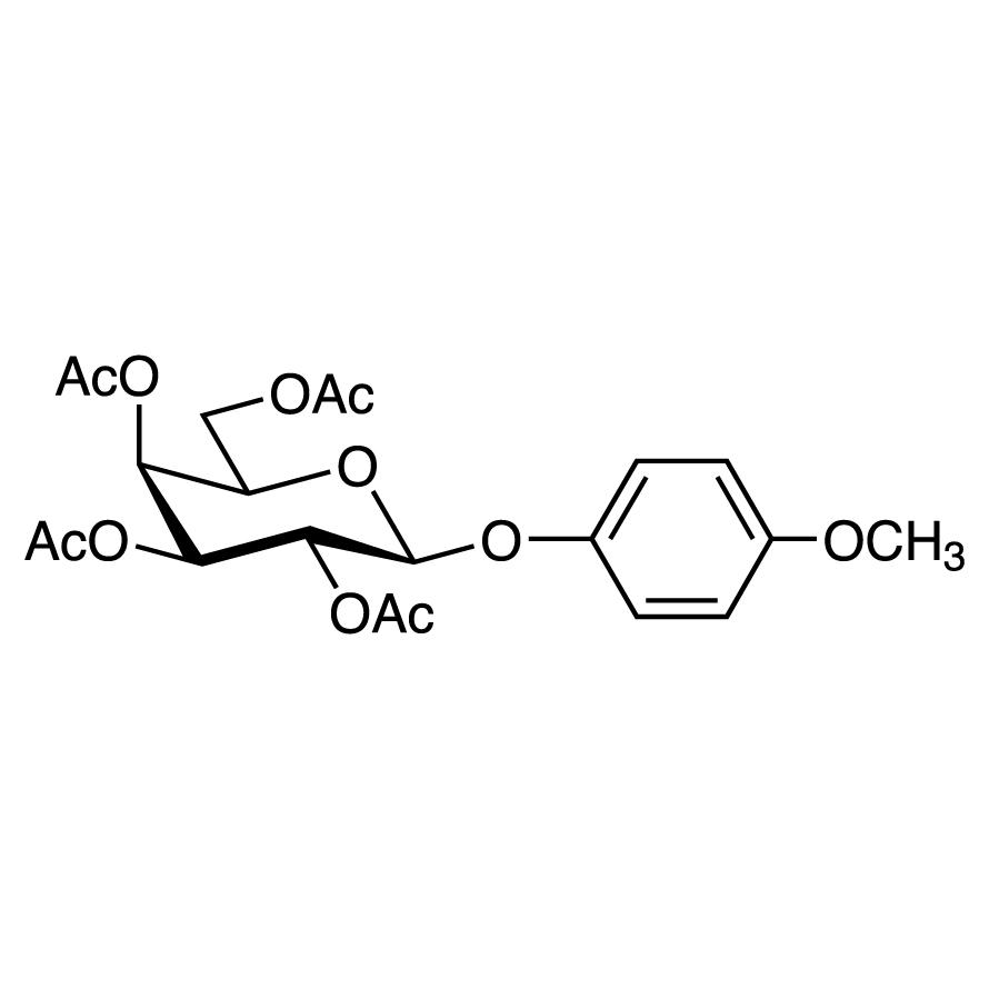 4-Methoxyphenyl 2,3,4,6-Tetra-O-acetyl--D-galactopyranoside