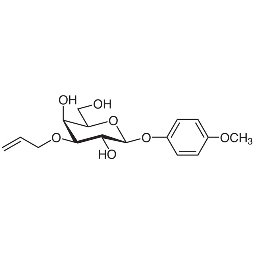 4-Methoxyphenyl 3-O-Allyl--D-galactopyranoside
