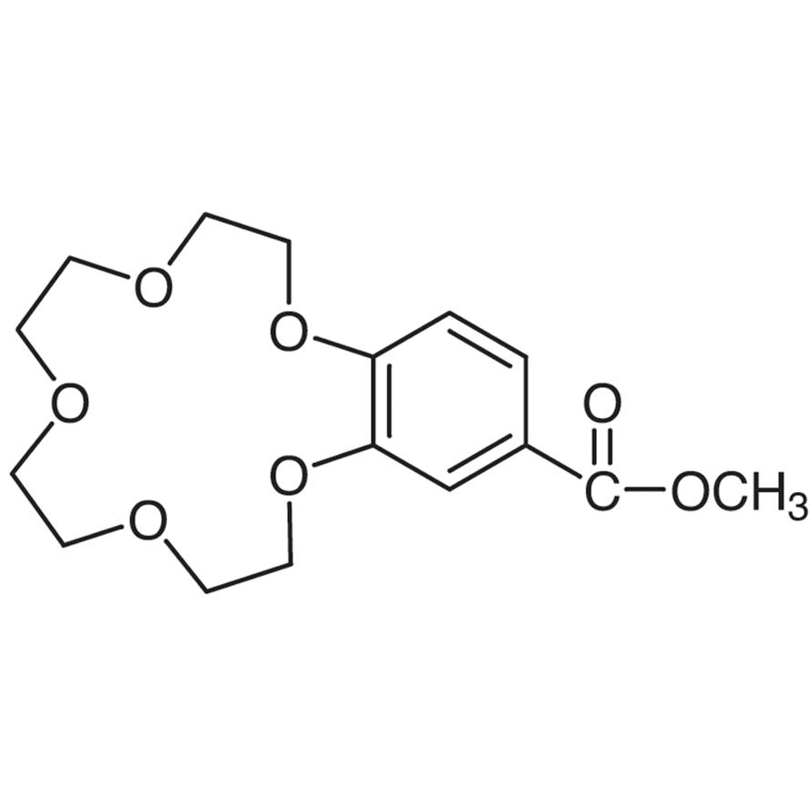 4'-Methoxycarbonylbenzo-15-crown 5-Ether
