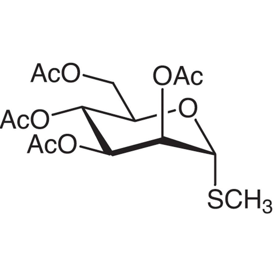 Methyl 2,3,4,6-Tetra-O-acetyl-1-thio--D-mannopyranoside (contains ca. 5% -isomer)