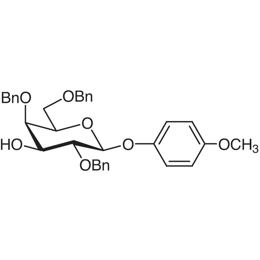 4-Methoxyphenyl 2,4,6-Tri-O-benzyl--D-galactopyranoside