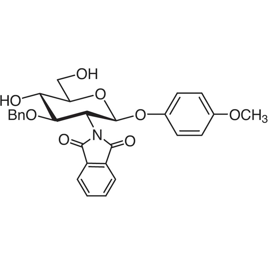 4-Methoxyphenyl 3-O-Benzyl-2-deoxy-2-phthalimido--D-glucopyranoside