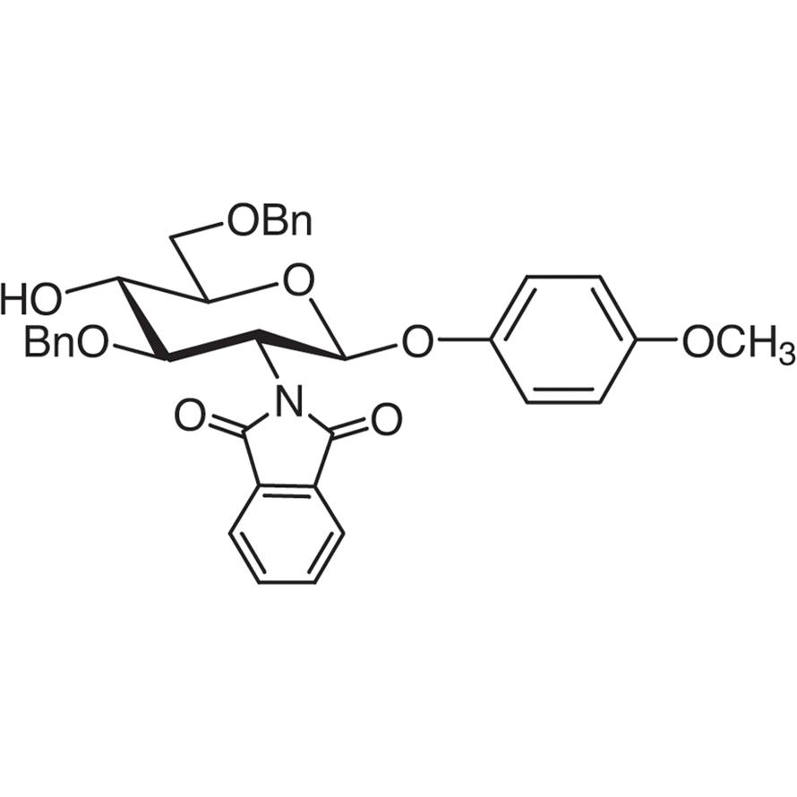 4-Methoxyphenyl 3,6-Di-O-benzyl-2-deoxy-2-phthalimido--D-glucopyranoside