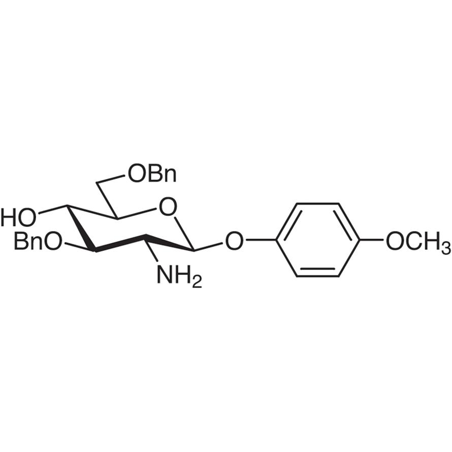 4-Methoxyphenyl 2-Amino-3,6-di-O-benzyl-2-deoxy--D-glucopyranoside