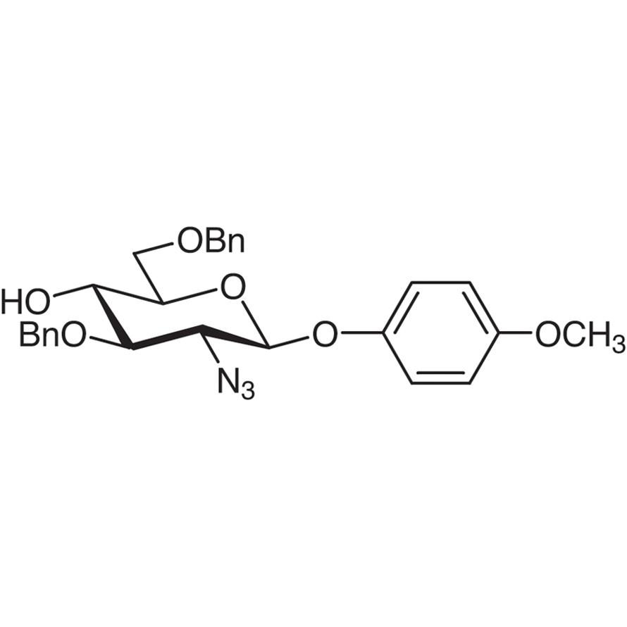 4-Methoxyphenyl 2-Azido-3,6-di-O-benzyl-2-deoxy--D-glucopyranoside