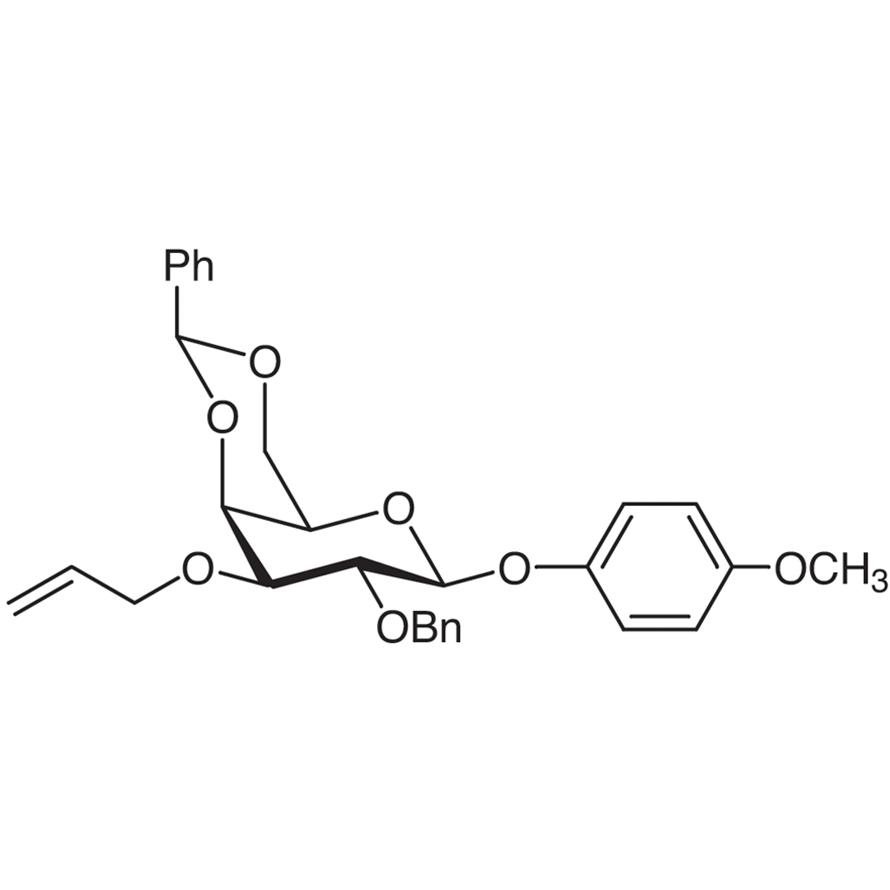 4-Methoxyphenyl 3-O-Allyl-2-O-benzyl-4,6-O-benzylidene--D-galactopyranoside