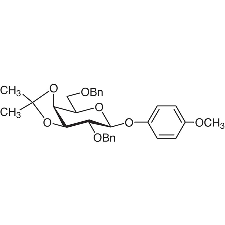 4-Methoxyphenyl 2,6-Di-O-benzyl-3,4-O-isopropylidene--D-galactopyranoside