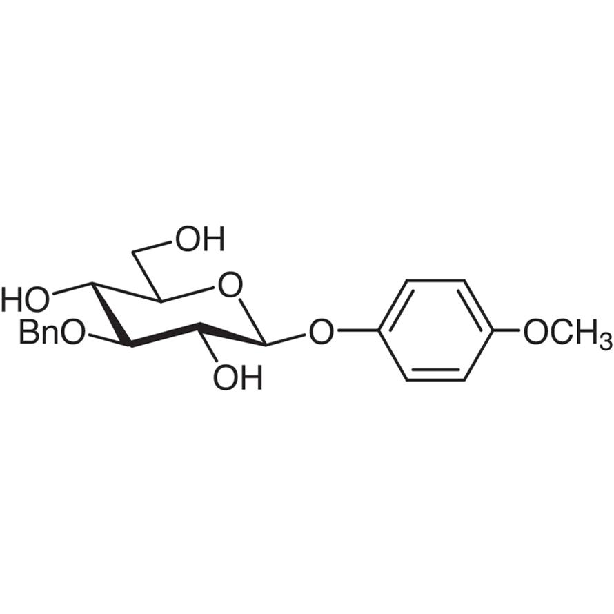 4-Methoxyphenyl 3-O-Benzyl--D-glucopyranoside