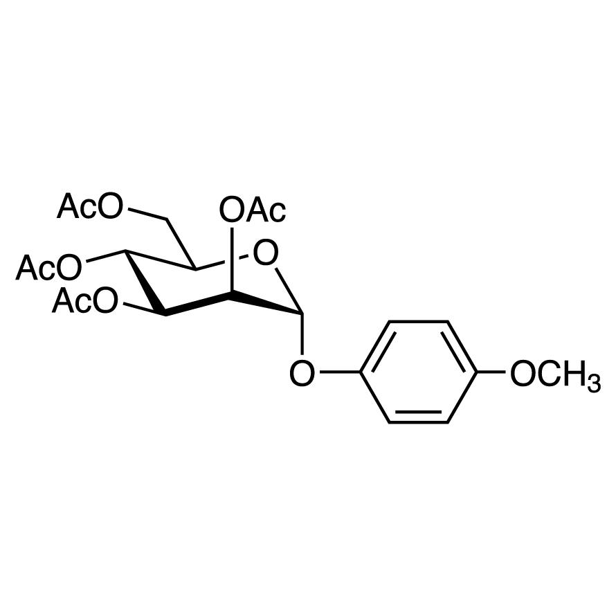 4-Methoxyphenyl 2,3,4,6-Tetra-O-acetyl--D-mannopyranoside
