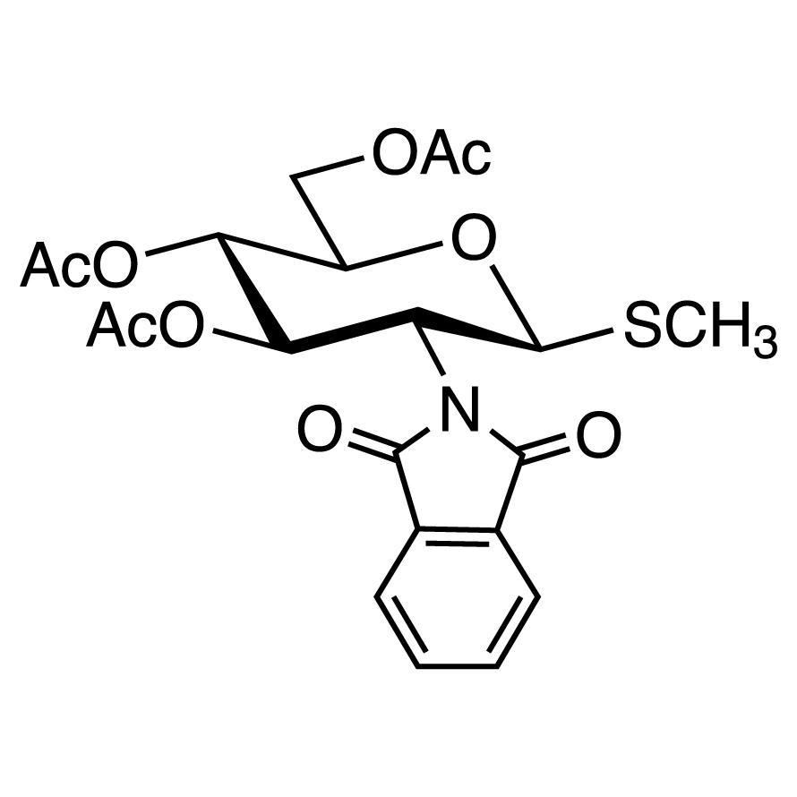 Methyl 3,4,6-Tri-O-acetyl-2-deoxy-2-phthalimido-1-thio--D-glucopyranoside