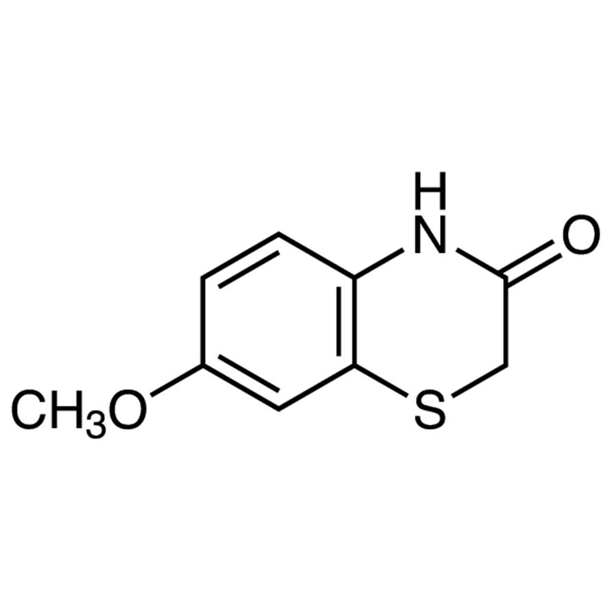 7-Methoxy-1,4-benzothiazin-3-one
