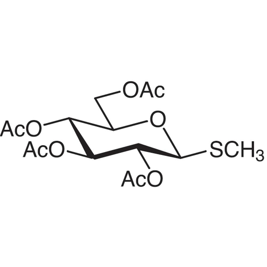 Methyl 2,3,4,6-Tetra-O-acetyl-1-thio--D-glucopyranoside