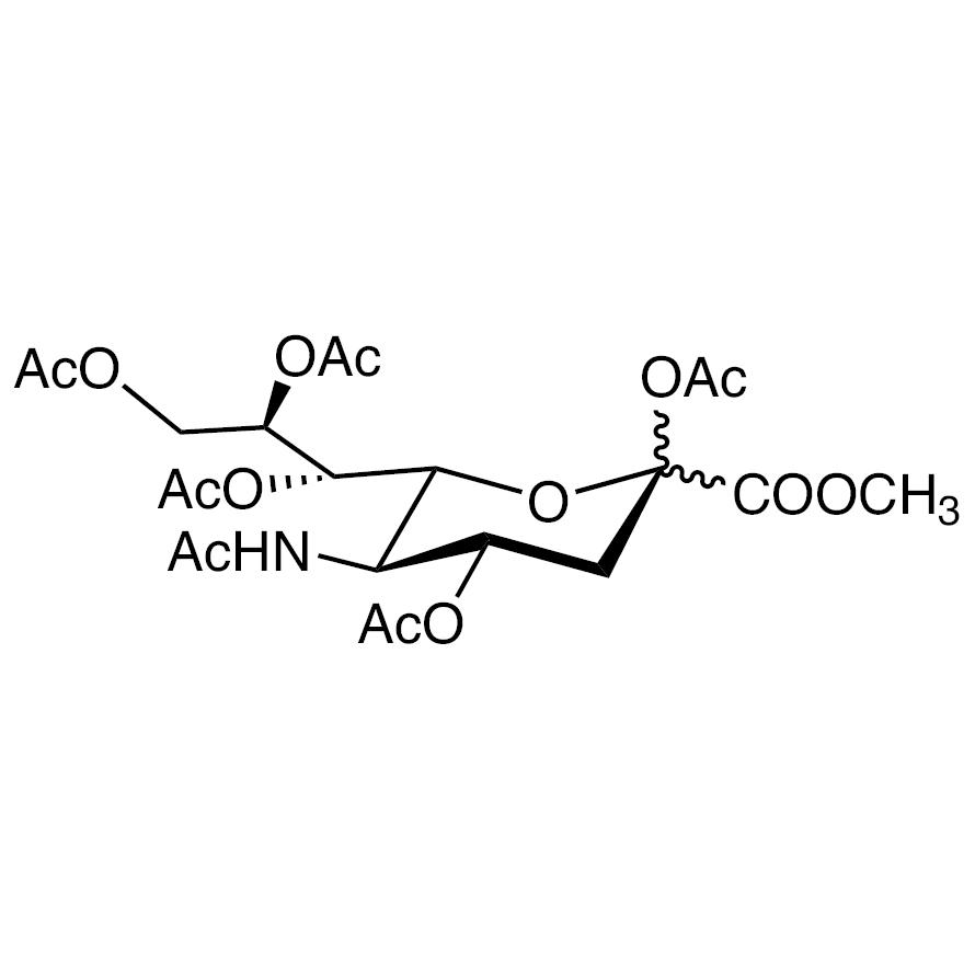 2,4,7,8,9-Penta-O-acetyl-N-acetylneuraminic Acid Methyl Ester