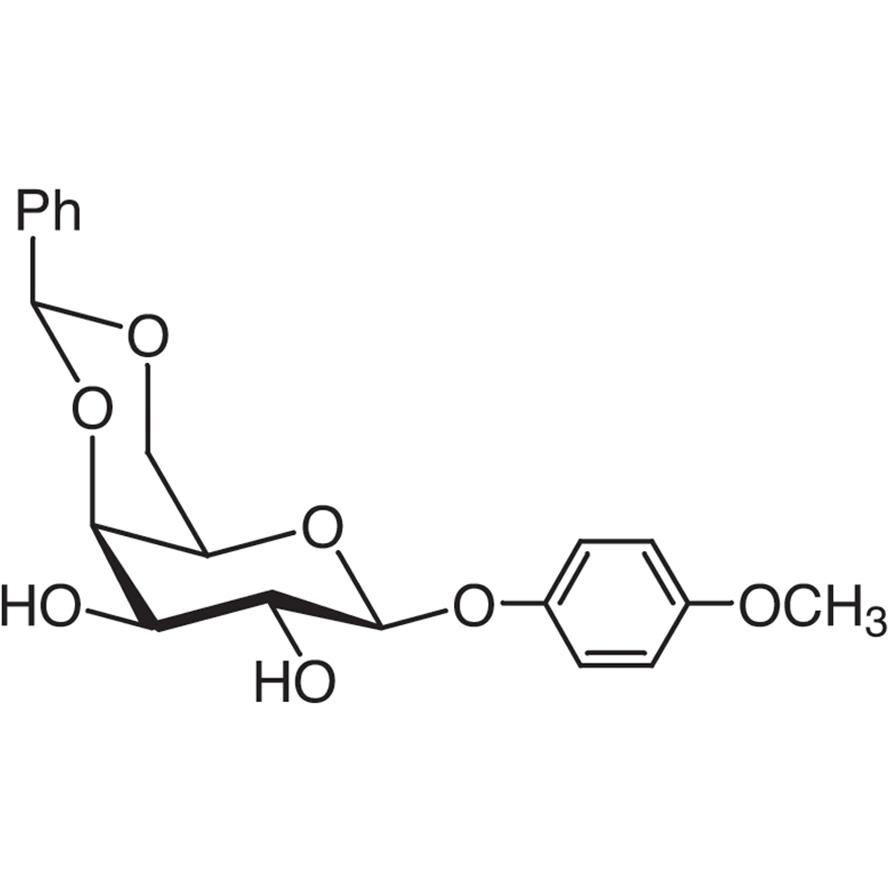 4-Methoxyphenyl 4,6-O-Benzylidene--D-galactopyranoside