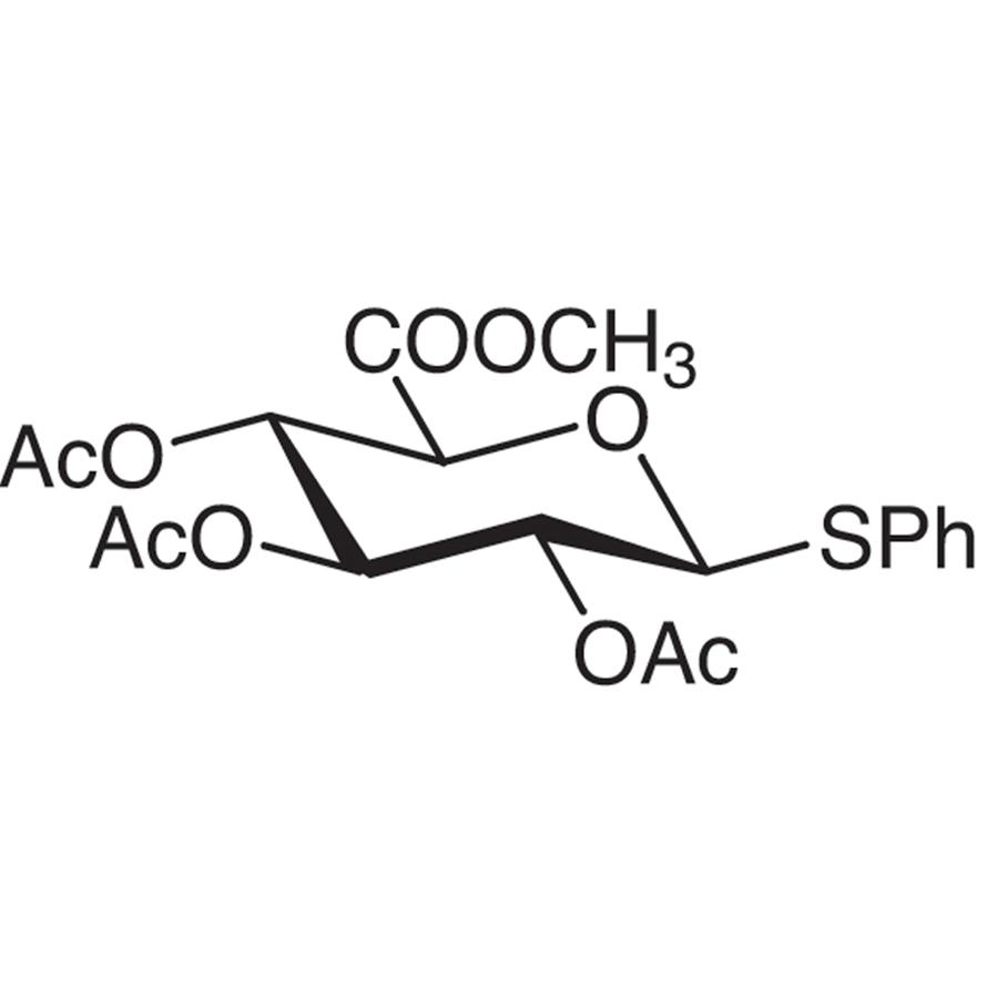Methyl (Phenyl 2,3,4-Tri-O-acetyl-1-thio--D-glucopyranosid)uronate