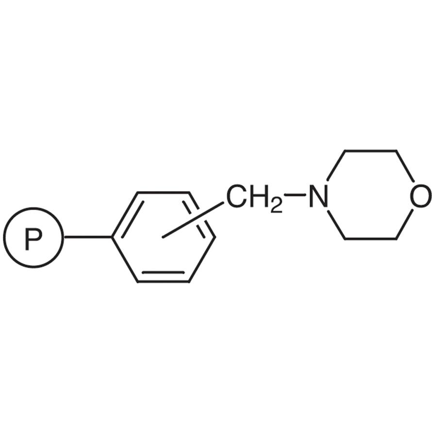 Morpholinomethyl Polystyrene Resin cross-linked with 1% DVB (50-100mesh) (2.9-3.5mmol/g)