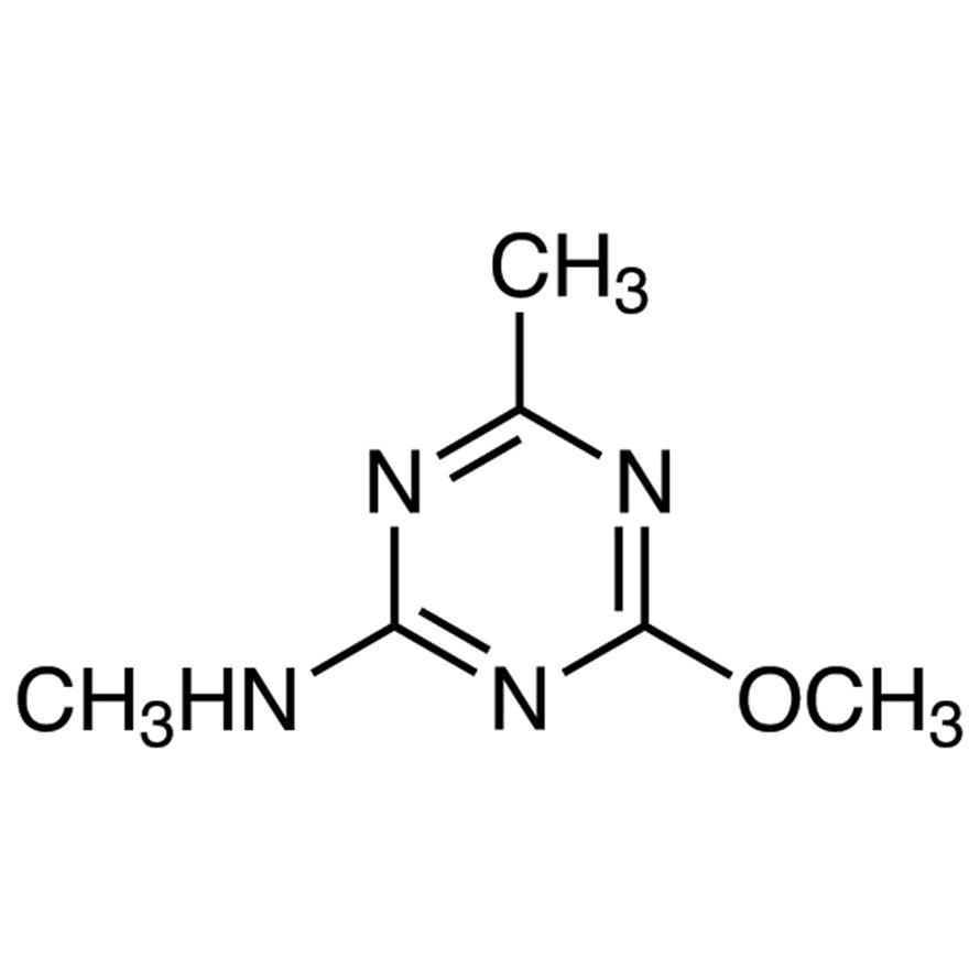 2-Methoxy-4-methyl-6-(methylamino)-1,3,5-triazine