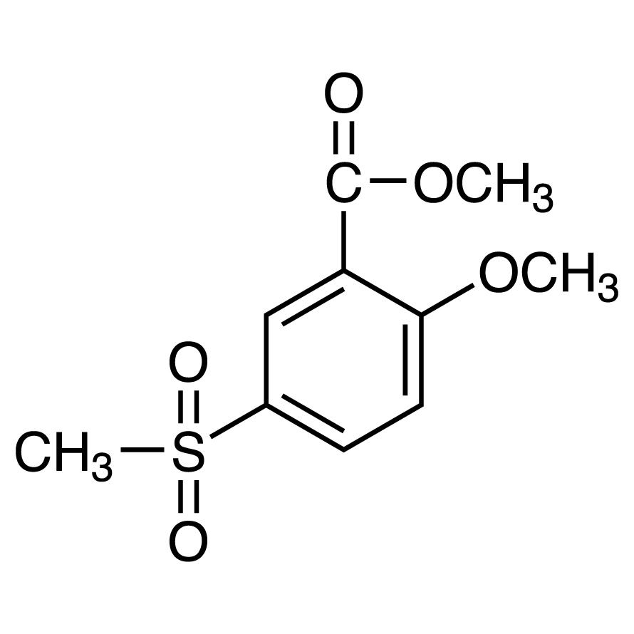 Methyl 2-Methoxy-5-(methylsulfonyl)benzoate