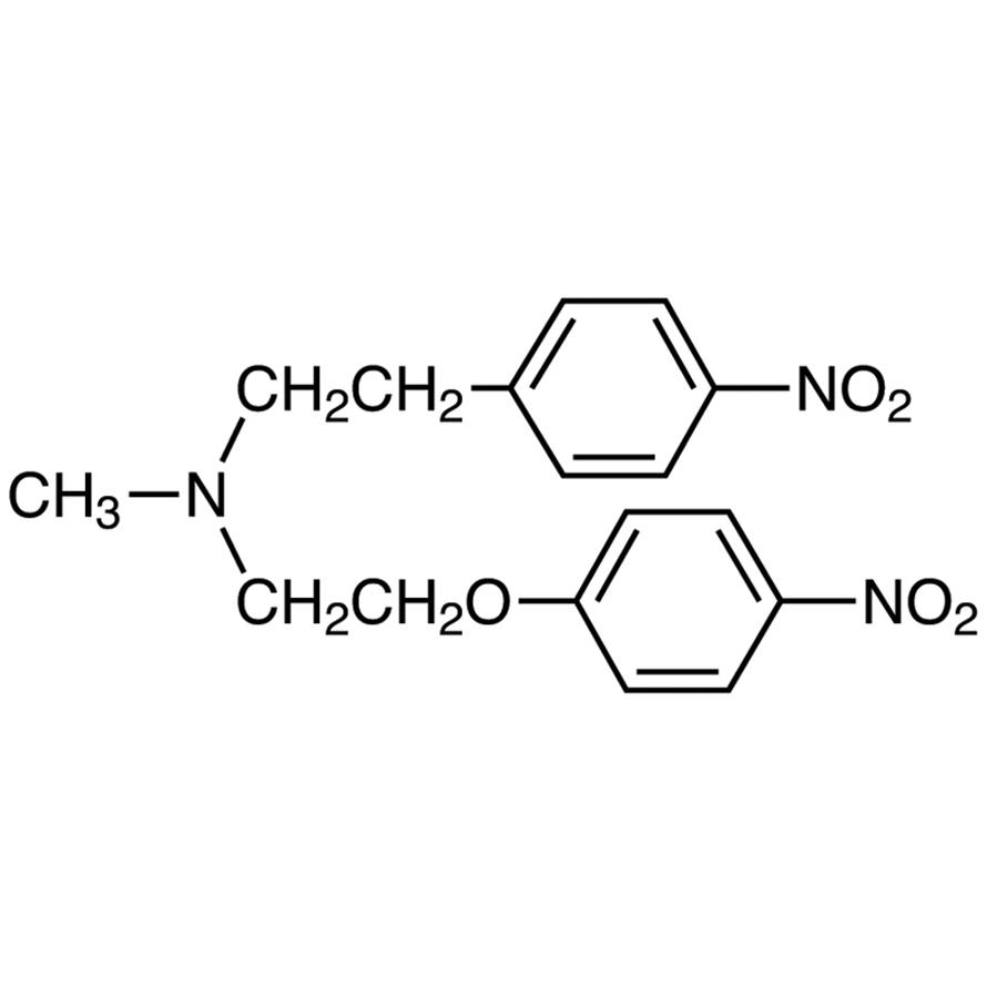 N-Methyl-4-nitro-N-[2-(4-nitrophenoxy)ethyl]phenylethylamine