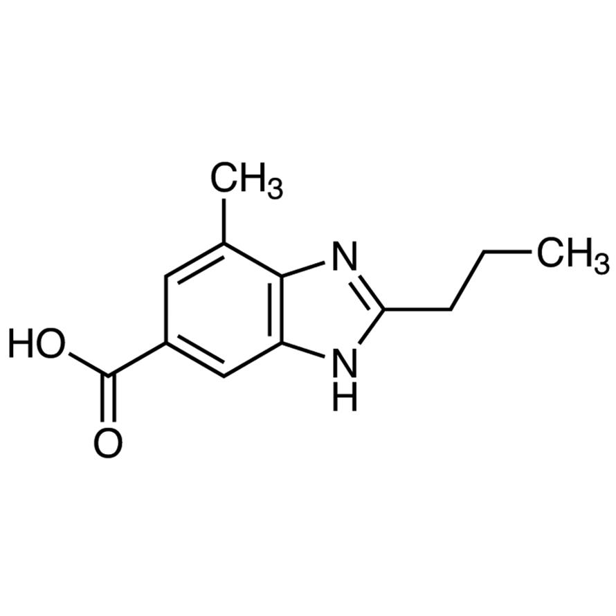 4-Methyl-2-propyl-6-benzimidazolecarboxylic Acid