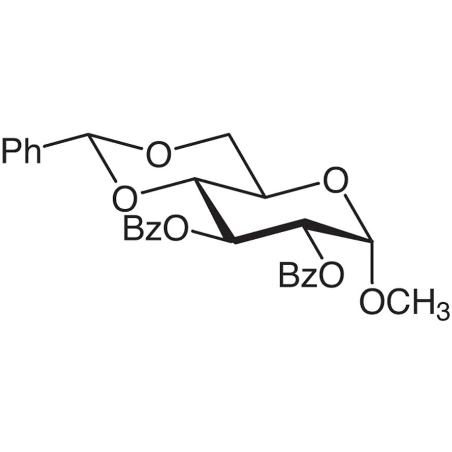 Methyl 2,3-Di-O-benzoyl-4,6-O-benzylidene--D-glucopyranoside