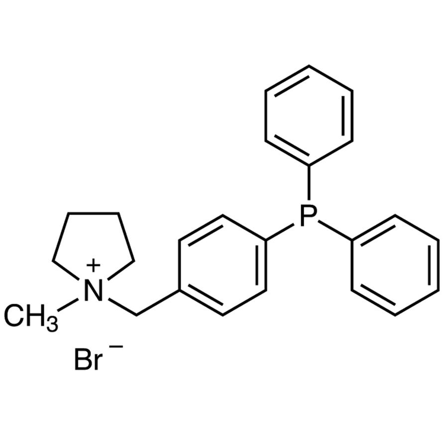 1-Methyl-1-[4-(diphenylphosphino)benzyl]pyrrolidinium Bromide