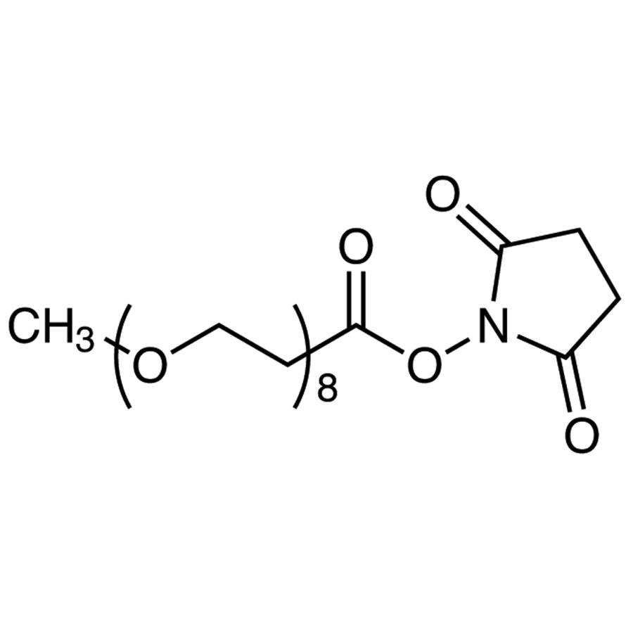 Methyl-PEG8-NHS Ester