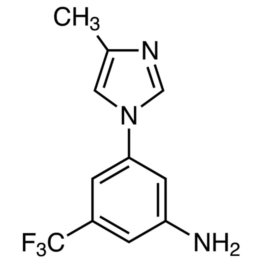 3-(4-Methyl-1H-imidazol-1-yl)-5-(trifluoromethyl)aniline