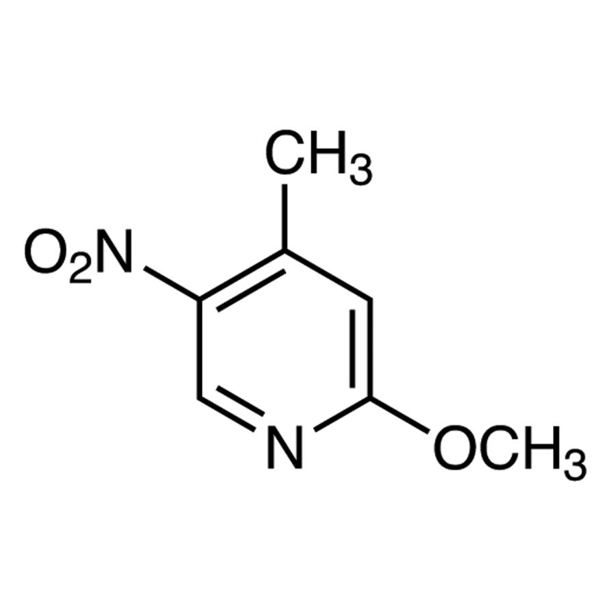 2-Methoxy-4-methyl-5-nitropyridine