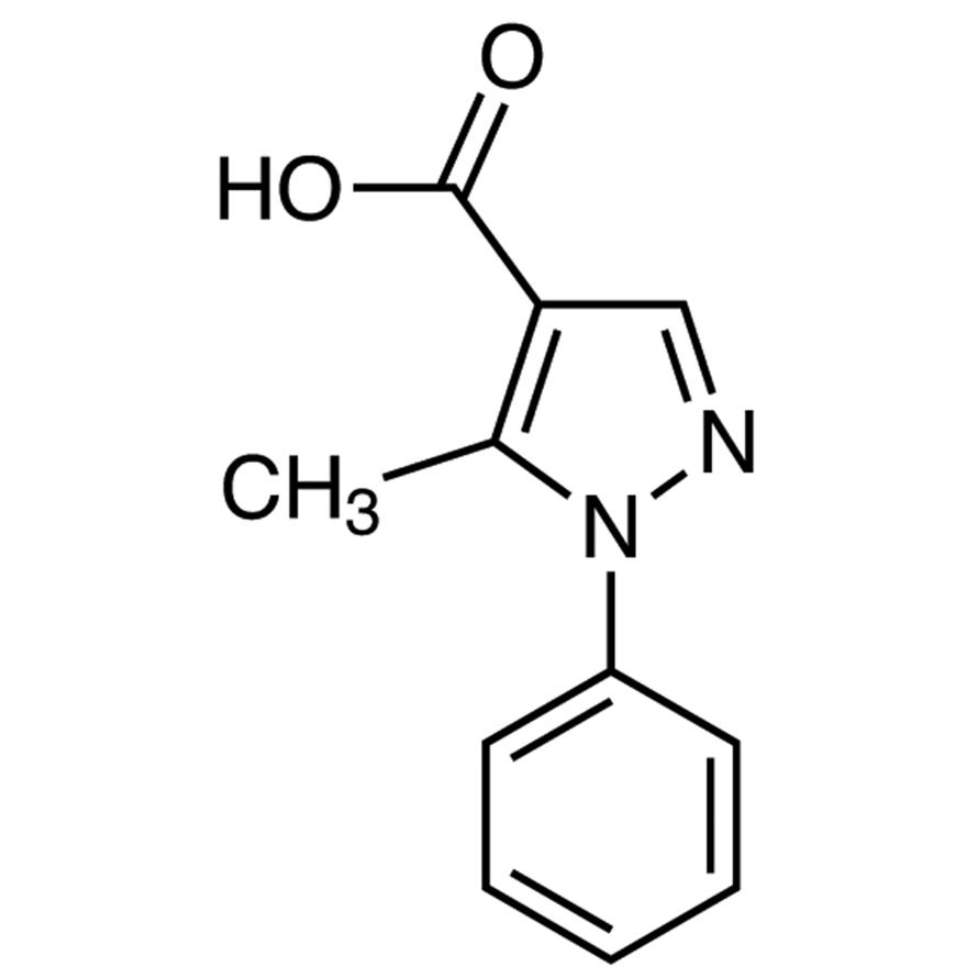 5-Methyl-1-phenylpyrazole-4-carboxylic Acid